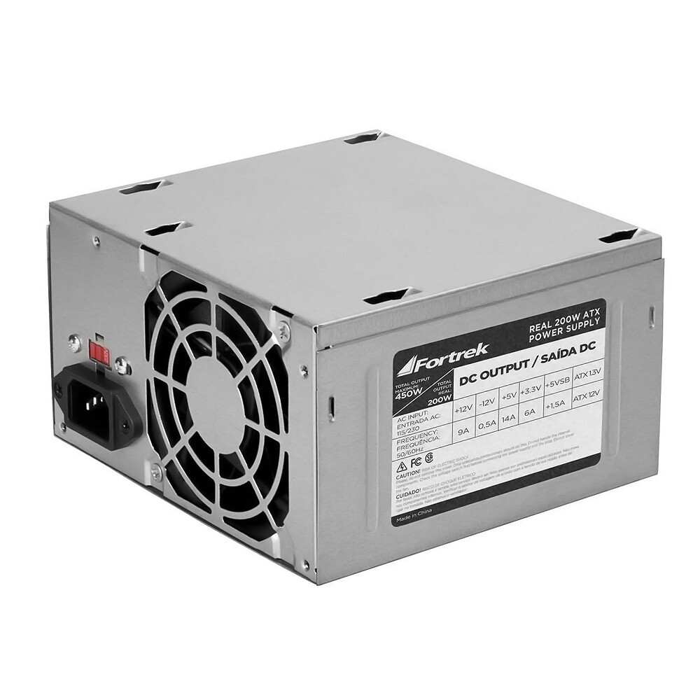 Fonte ATX 200w Real S/ cabo Fortrek