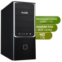 Desktop Basic 1151 - Intel Celeron G3900, Ddr4 8Gb, Hd 1Tb
