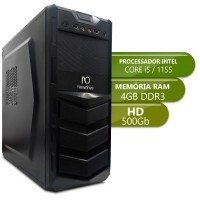 Desktop Intermediario 1155 - Intel Core i5, Ddr3 4GB, Hd 500Gb