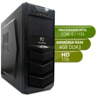 Desktop Intermediario 1155 - Intel Core i5, Ddr3 4GB, Hd 1Tb
