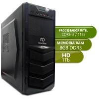 Desktop Intermediario 1155 - Intel Core i5, Ddr3 8GB, Hd 1Tb
