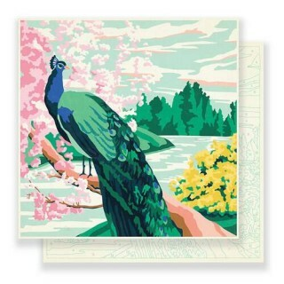Papel Jardin - Maggie Holmes - Flourish Collection 180g 30,5x30,5