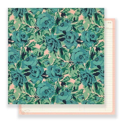 Papel Poetic - Maggie Holmes - Flourish Collection 180g 30,5x30,5