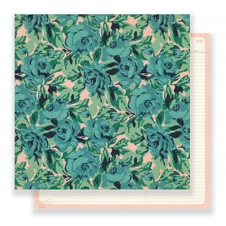 Papel Rose Garden - Maggie Holmes - Flourish Collection 180g 30,5x30,5