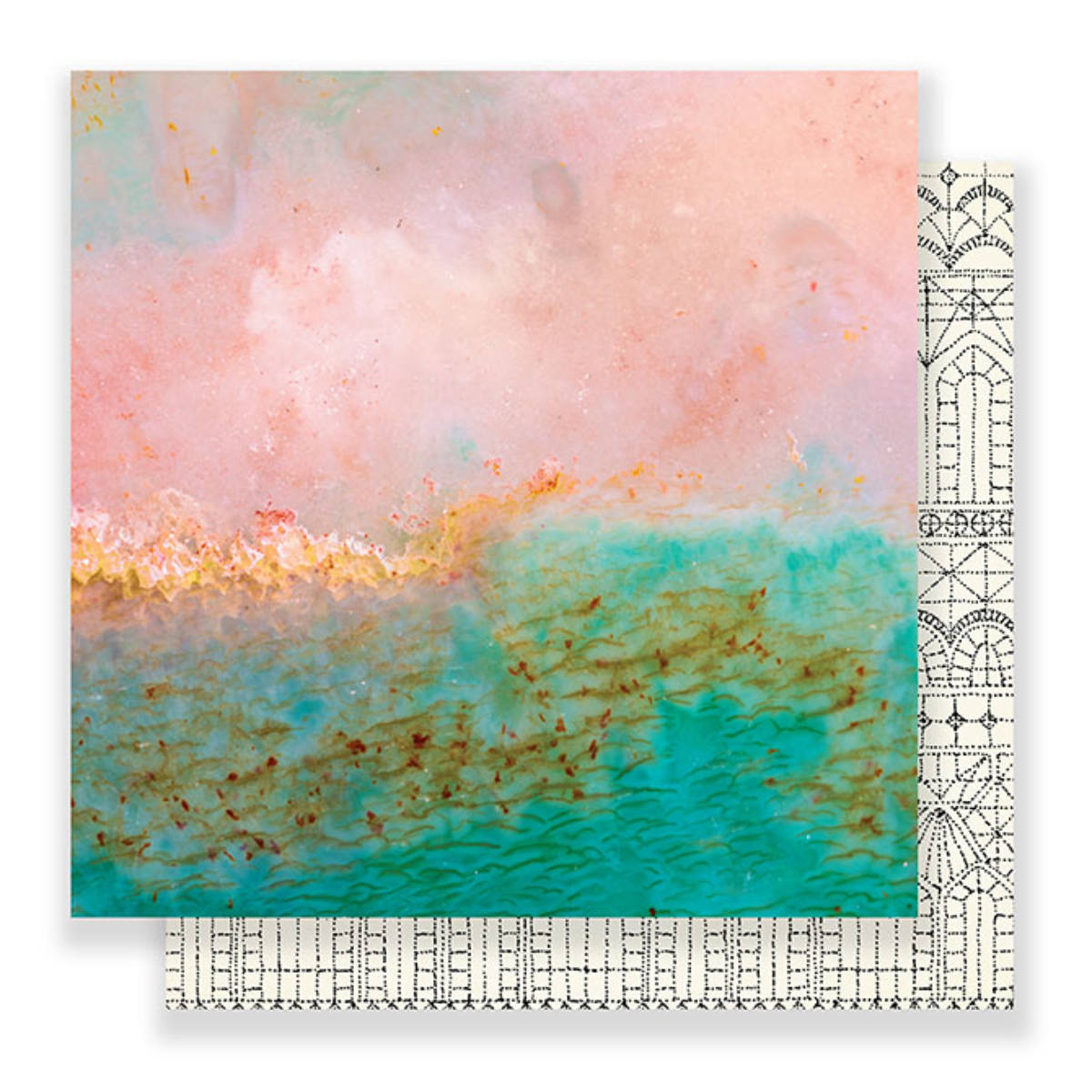 Papel Royal - Maggie Holmes - Flourish Collection 180g 30,5x30,5
