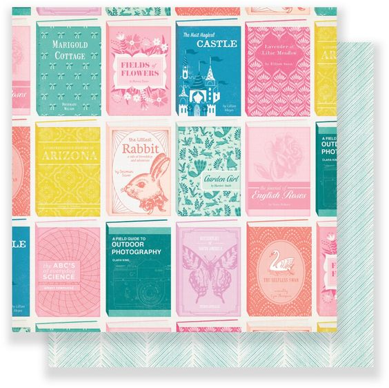 Papel Library - Maggie Holmes - Chasing Dreams Collection 180g 30,5x30,5