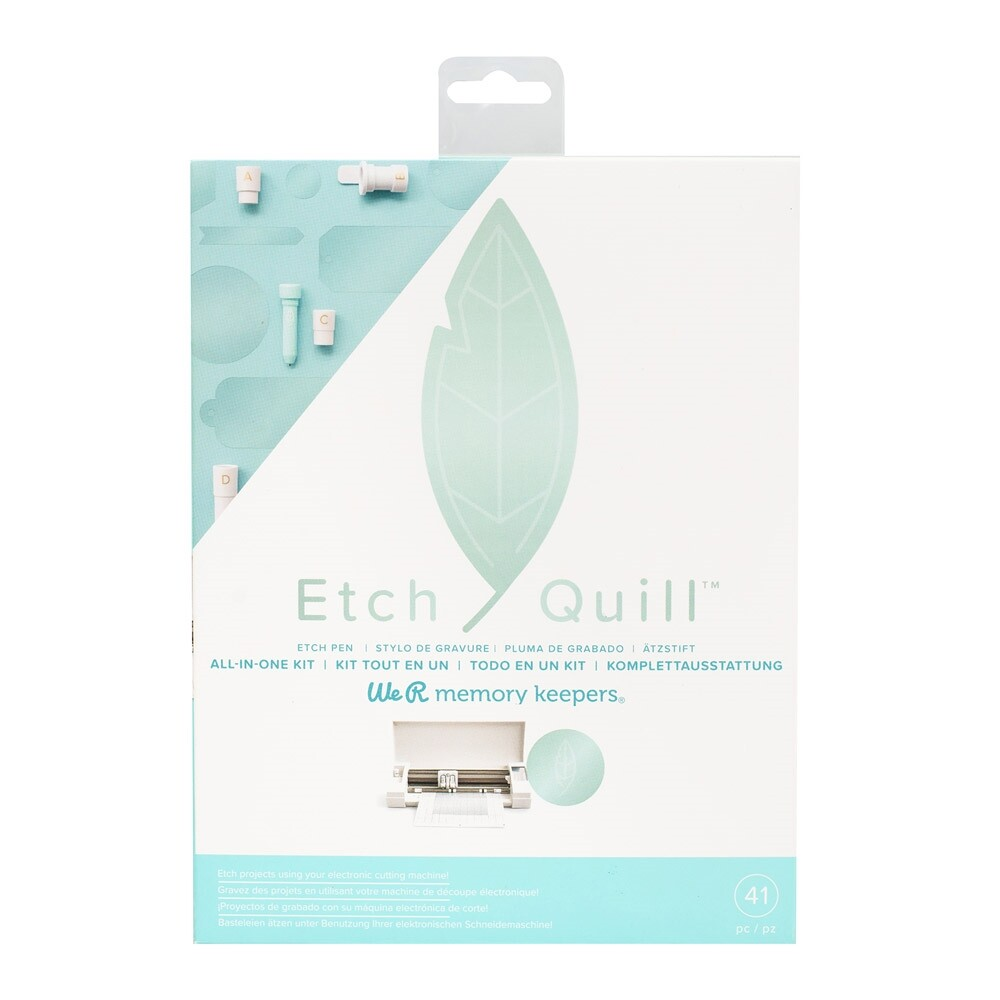 Kit Inicial Etch Quill We R