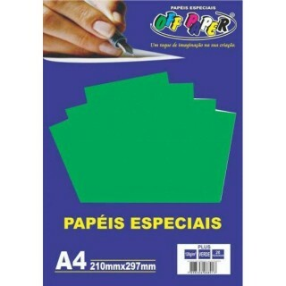 PAPEL PLUS VERDE 120 A4 20 FLS