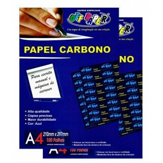 PAPEL CARBONO A4 100 FLS