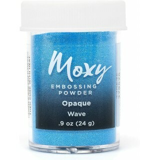 Pó para Emboss - Moxy Embossing Powder - Opaque Wave