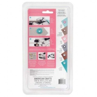 Crop-A-Dile We R - Hole Punch & Eyelet Setter