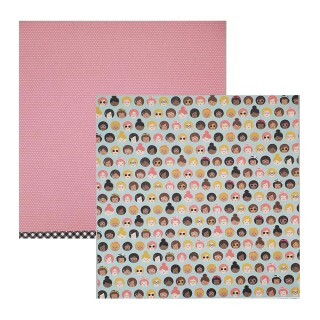 Papel Girl Squad - Girl Squad - Pebbles Collection 180g 30,5x30,5
