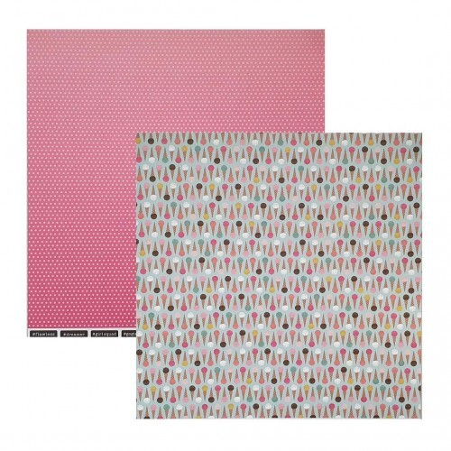 Papel Cool Treat - Girl Squad - Pebbles Collection 180g 30,5x30,5