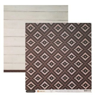 Papel Aztec - Jen Hadfield - Simple Life Collection 180g 30,5x30,5