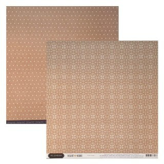 Papel Krafted - Jen Hadfield - Heart of Home Collection 180g 30,5x30,5