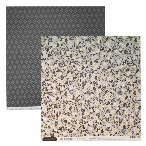 Papel Wild Daisies - Jen Hadfield - Heart of Home Collection 180g 30,5x30,5