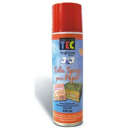Cola Spray para Papel 250ml - Toke e Crie