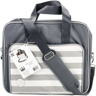 Bolsa Organizadora Cinza Crafters Shoulder Bag - We R Memory Keepers