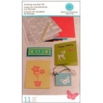 Kit Decalque Camurça Flocking Transfer - Martha Stewart Crafts
