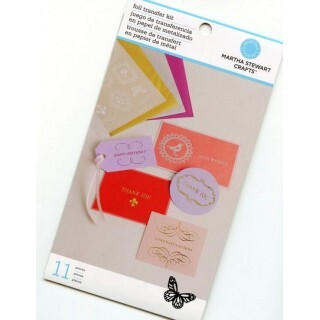 Kit Decalque em Foil - Foil Transfer Kit