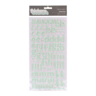 Adesivos Thickers Puffy Letter Stickers - Serenade