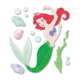 ADESIVO DISNEY EK SUCCESS - PRINCESAS Ariel