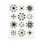 Adesivos Strass Gemstone Flower - Martha Stewart Crafts