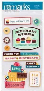 Adesivos Frases Remarks - American Crafts
