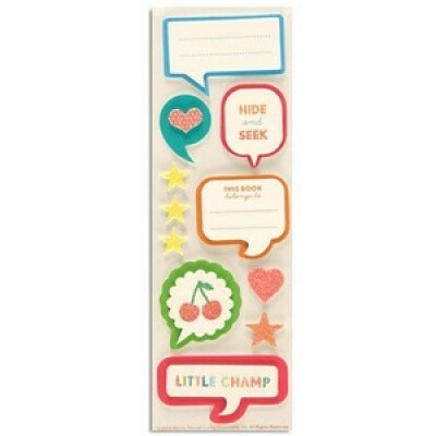 Adesivos Bubble Quote - Martha Stewart Crafts