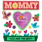 Adesivos - I Love My Mommy - Jolees Boutique