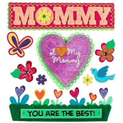 Adesivos I Love My Mommy - Jolees Boutique