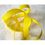Fita decorada Yellow - American Crafts -