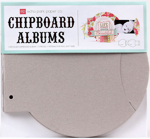 Album Chipboard Circular- Echo Park Paper Co.