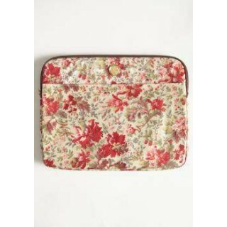 Bolsa Vintage - Computer Bag Fleur Rouge Red - Anna Griffin