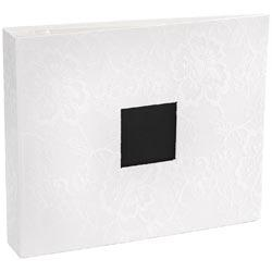 Álbum Rendado Branco 12x12 - White Lace - American Crafts