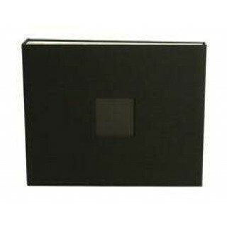 Álbum 12x12 D Ring -  Veludo Black - American Crafts