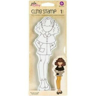 Carimbo -  Cling Rubber Stamps Giulia - Prima Marketing