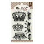 Carimbo - Bo Bunny - Royalty Stamp