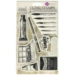 Carimbo - Iron Orchid Designs Cling Stamps