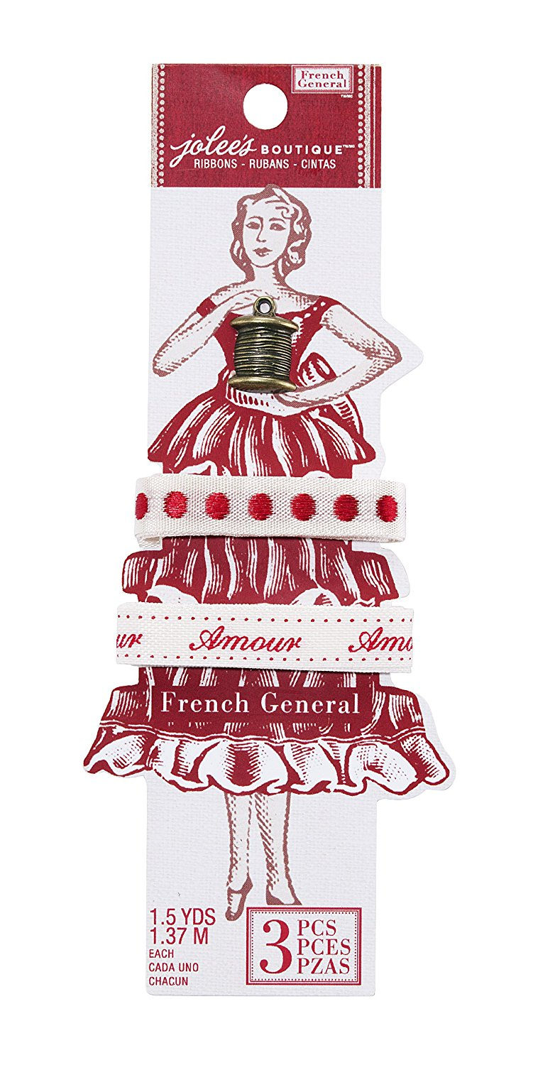 Fita - French General Ribbons - Dots Words