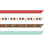 Fita -  Birthday Streamers Ribbon - Imaginisce