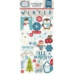 Adesivo Chipboard - I Love Winter - Echo Park Paper
