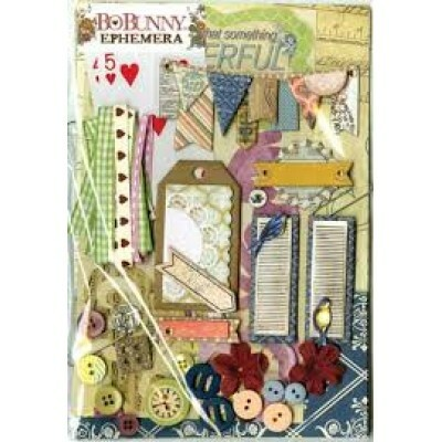 Kit Completo para Scrapbook - Provence Ephemera by Bo Bunny