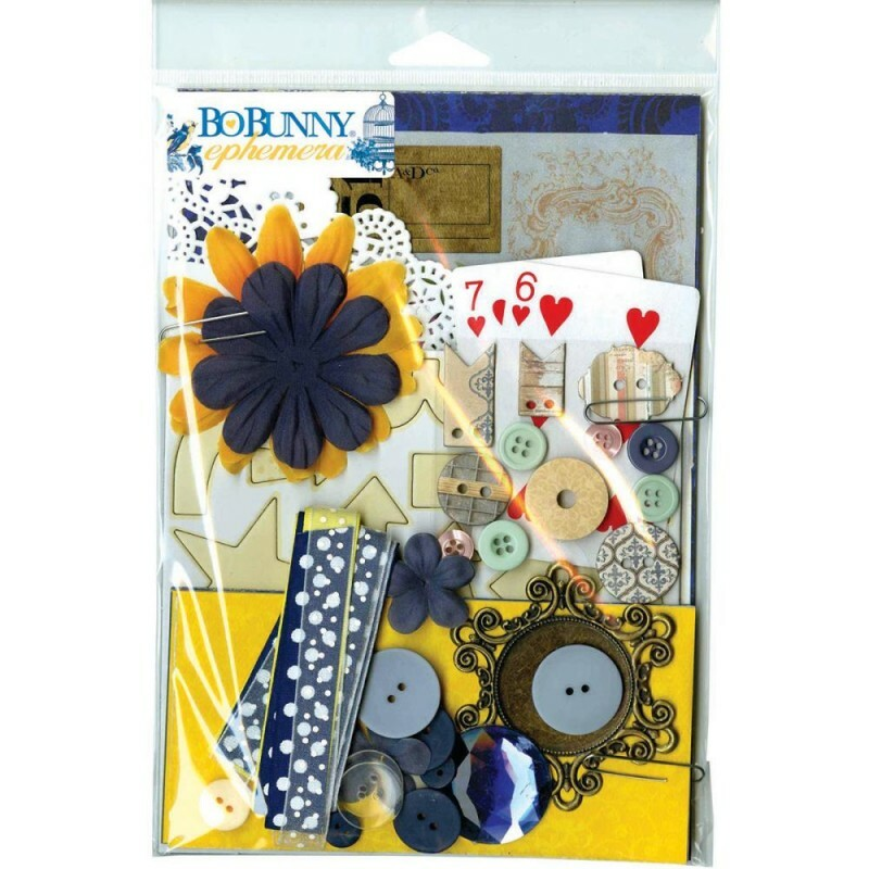 Kit Completo para Scrapbook - Genevieve Ephemera by Bo Bunny