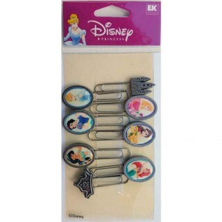 Paper Clips - Disney Princess - Ek Success