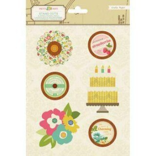 Adesivos Pretty Party - Crate Paper