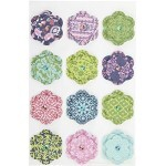 Adesivos Layered Flower - Martha Stewart