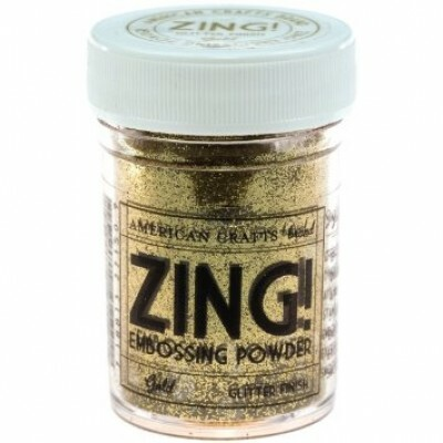 Pó para Emboss - Zing Metallic Embossing Powder - Gold