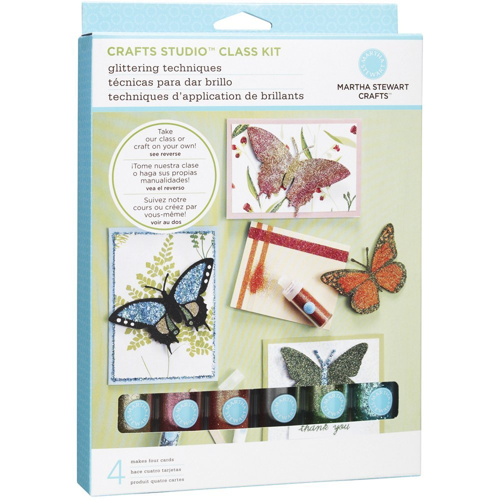 Kit Técnicas com Glítter - Martha Stewart Crafts