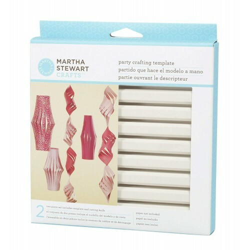 Party Crafting Template - Tubular Ornament Large - Martha Stewart